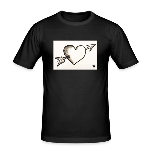 Break Heart - T-shirt près du corps Homme