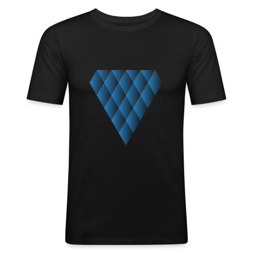 Diamanter i Diamanter - Herre Slim Fit T-Shirt