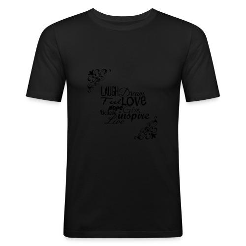 Motivational Quotes Shirt - slim fit T-shirt