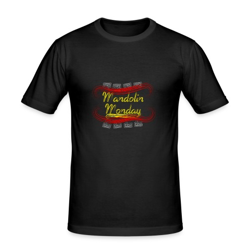 Mandolin Monday - Men's Slim Fit T-Shirt