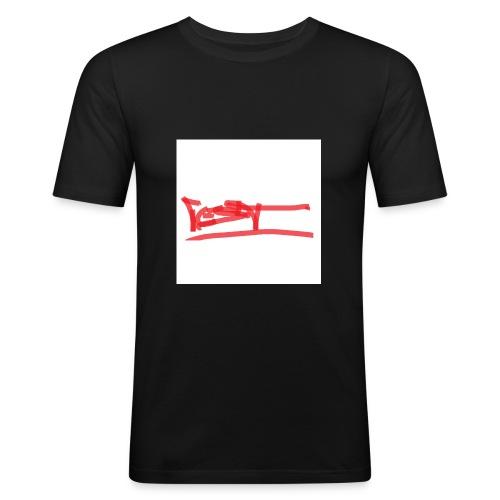 test - Männer Slim Fit T-Shirt