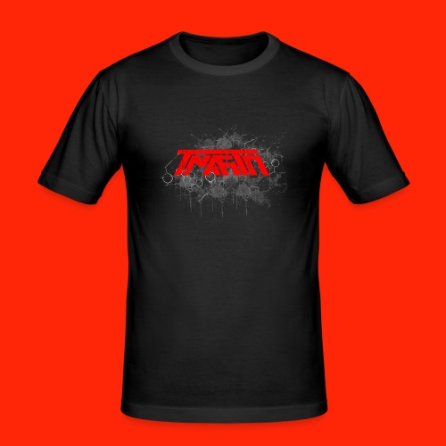 TmarTn Logo on different shirts and accesories - Herre Slim Fit T-Shirt