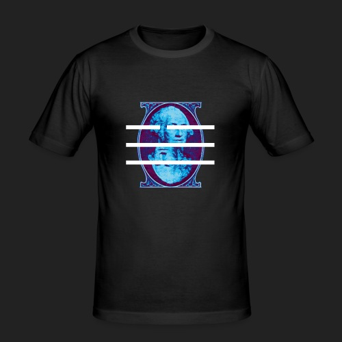 DOLLAR - Männer Slim Fit T-Shirt