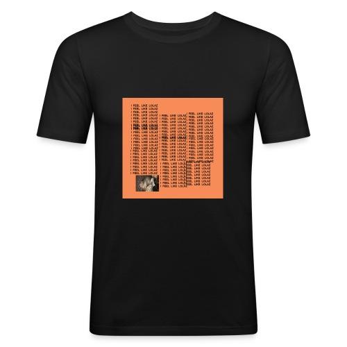I FEEL LIE LOLAZ - Männer Slim Fit T-Shirt