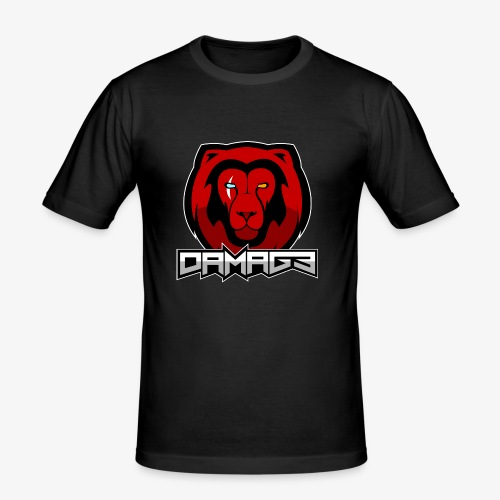 Damag3 Logo - Men's Slim Fit T-Shirt