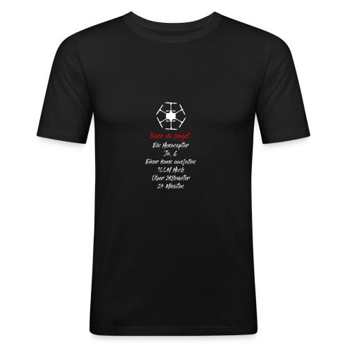 Typische Drohnenfragen: Hexacopter - Männer Slim Fit T-Shirt