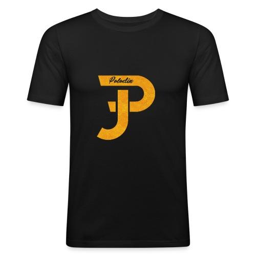 Merch gold - Männer Slim Fit T-Shirt