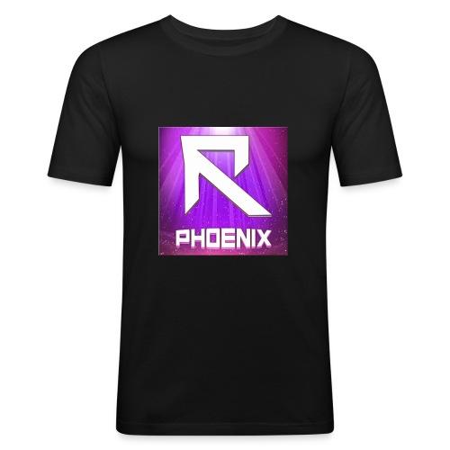 RTrixx Phoenix Logo - Men's Slim Fit T-Shirt