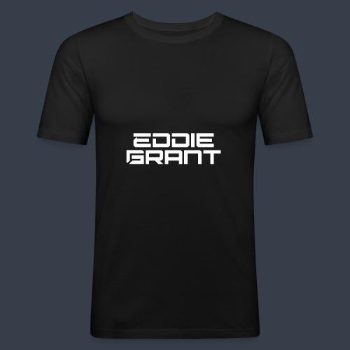 Eddie Grant White Logo - slim fit T-shirt