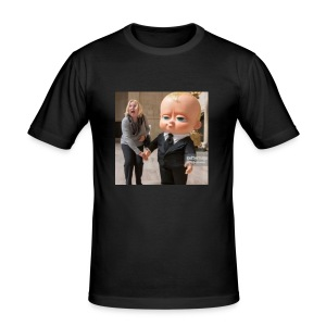 b0ss bb - Men's Slim Fit T-Shirt