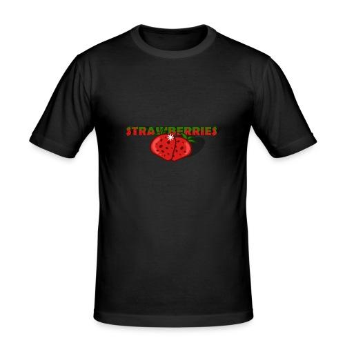 Strawberries - Slim Fit T-shirt herr