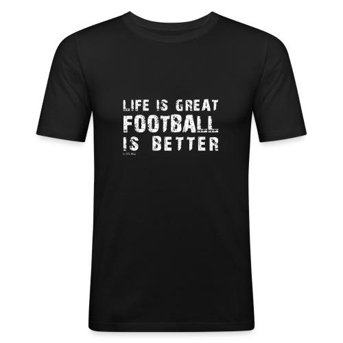 IFLMshirt_Life - Maglietta aderente da uomo