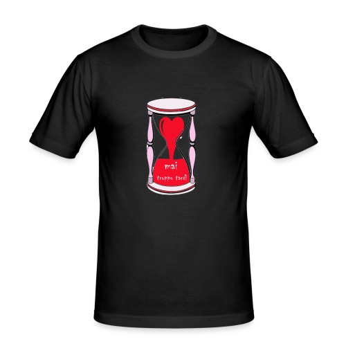 Zeuva - Camiseta ajustada hombre