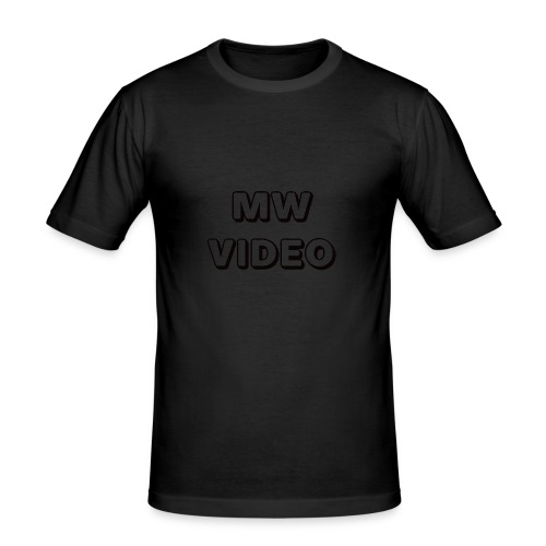 mw video's cap - slim fit T-shirt