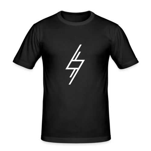 Sort T-Shirt - Herre Slim Fit T-Shirt