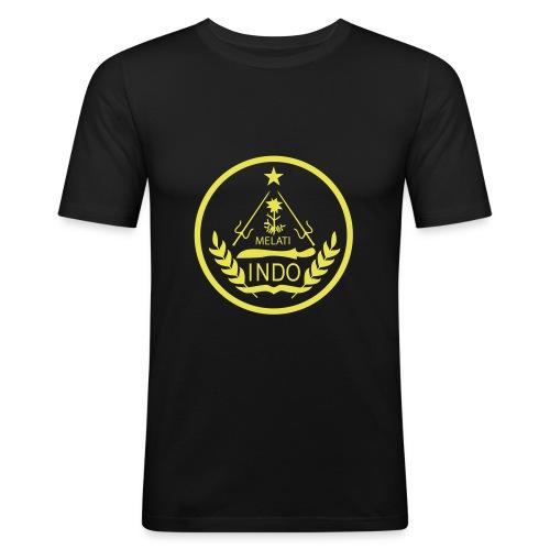 Indo_Melati_GEEL - slim fit T-shirt