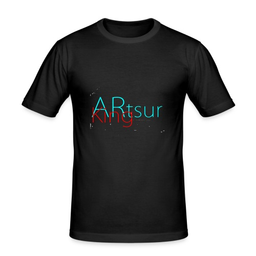 ARtsurKing Logo - Men's Slim Fit T-Shirt