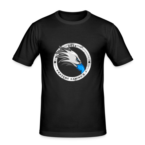 erasemeeeeee - Männer Slim Fit T-Shirt