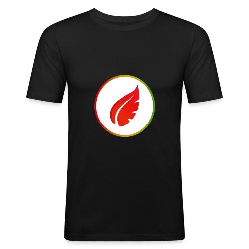 Red Autumn - T-shirt près du corps Homme