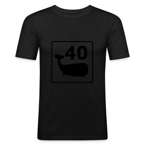 print-logo - Slim Fit T-skjorte for menn