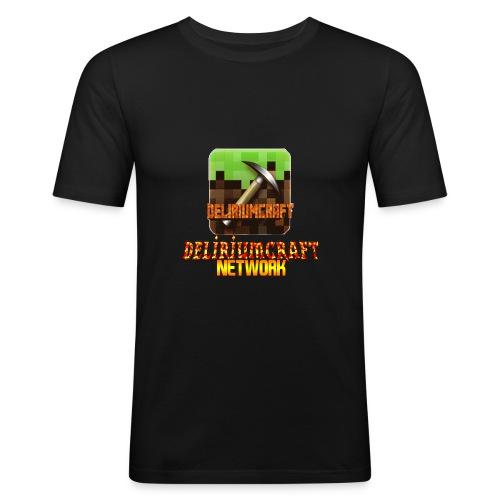 magliette DeliriumCraftNetWork - Maglietta aderente da uomo