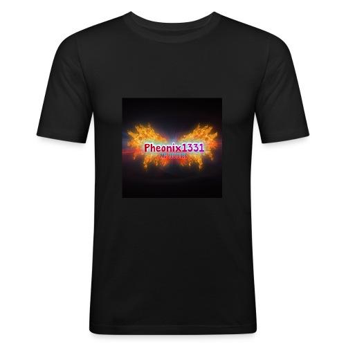 Flaming Pheonix YT - Men's Slim Fit T-Shirt