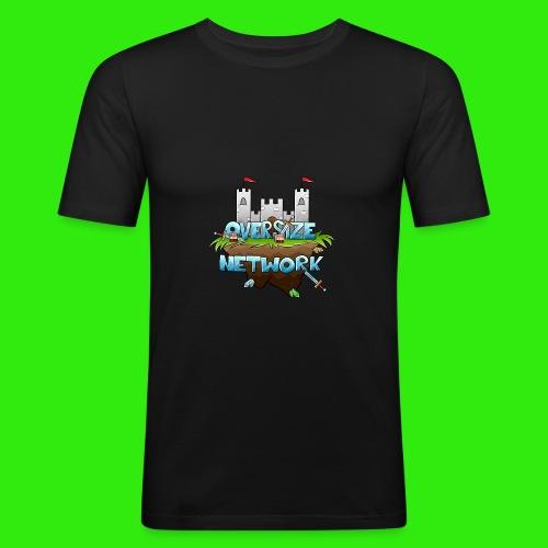 OverSizeNetwork's Logo - Slim Fit T-shirt herr