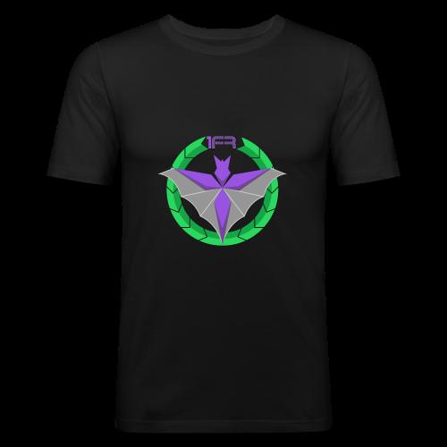 Logo 1FR Grand - T-shirt près du corps Homme