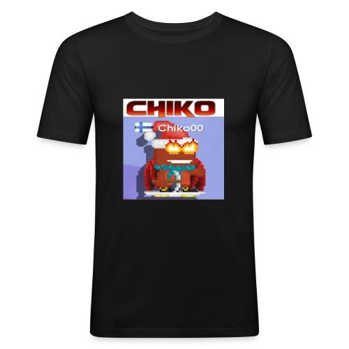 chiko00 fain juttuja :D - Men's Slim Fit T-Shirt