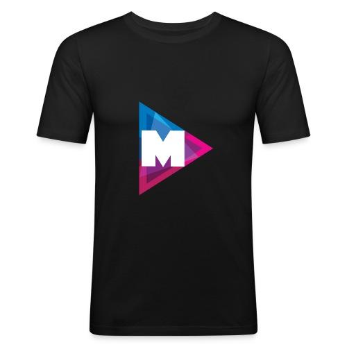 Mazzle - Männer Slim Fit T-Shirt