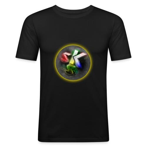 SkShadow Logo - Men's Slim Fit T-Shirt