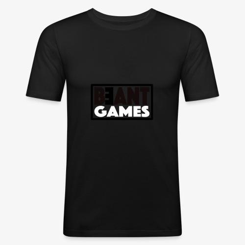 beant games - Männer Slim Fit T-Shirt