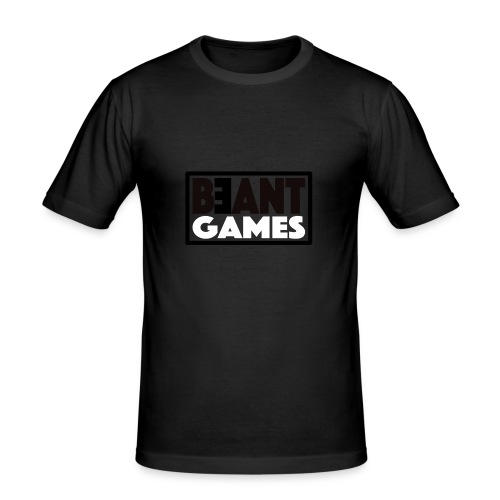 beant games - Männer Slim Fit T-Shirt