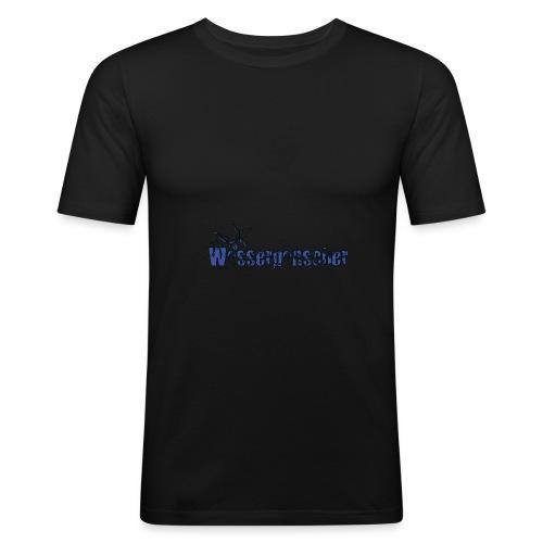 wasserpanscher3 - Männer Slim Fit T-Shirt