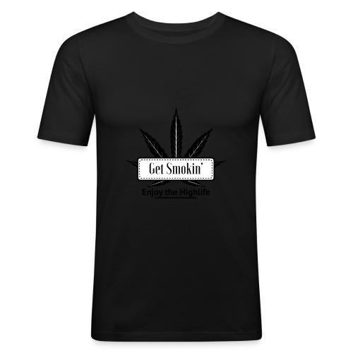 GetSmokin Logo - slim fit T-shirt
