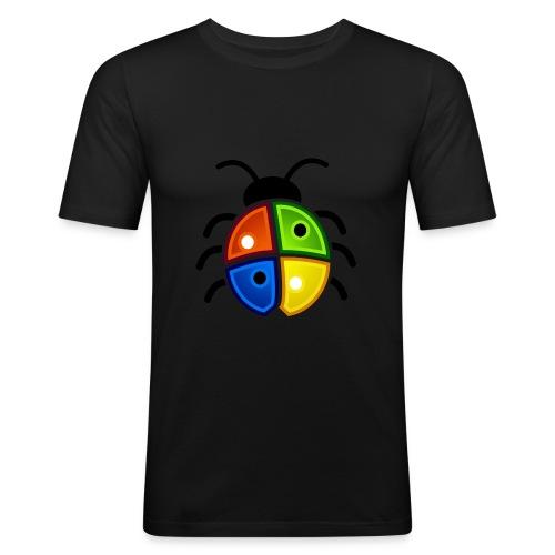 WINDOWS BUG/VIRUS - Männer Slim Fit T-Shirt