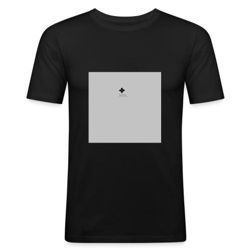 Spruch zum Ermutigen - Männer Slim Fit T-Shirt