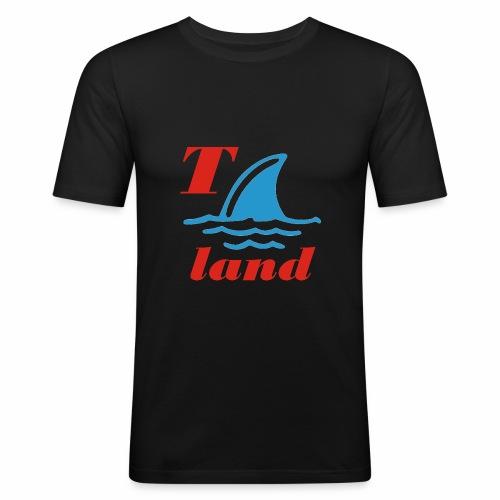 Thailand - Männer Slim Fit T-Shirt