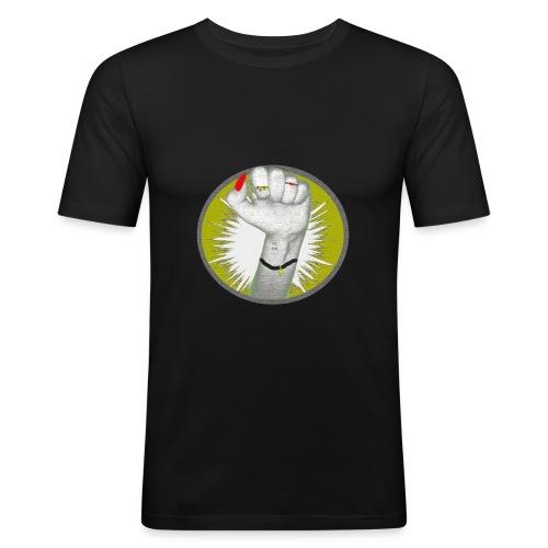 Girl Power! Hell - Männer Slim Fit T-Shirt