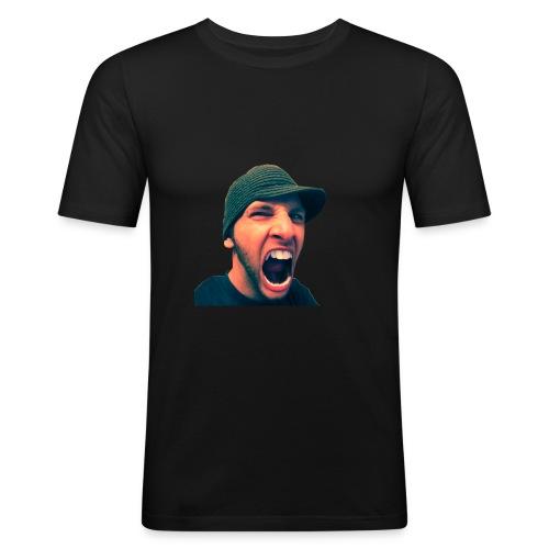 Nightwalker Logo - slim fit T-shirt