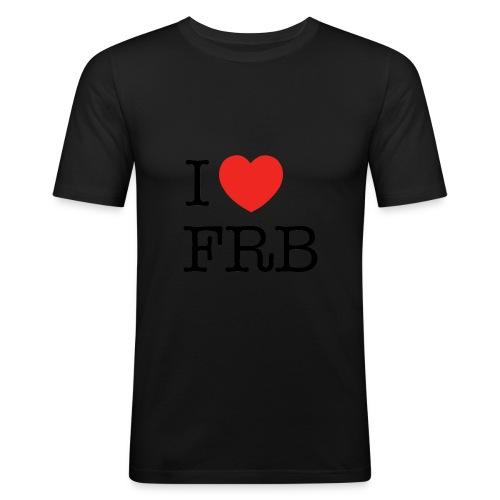 I Love FRB - Workwear - Herre Slim Fit T-Shirt