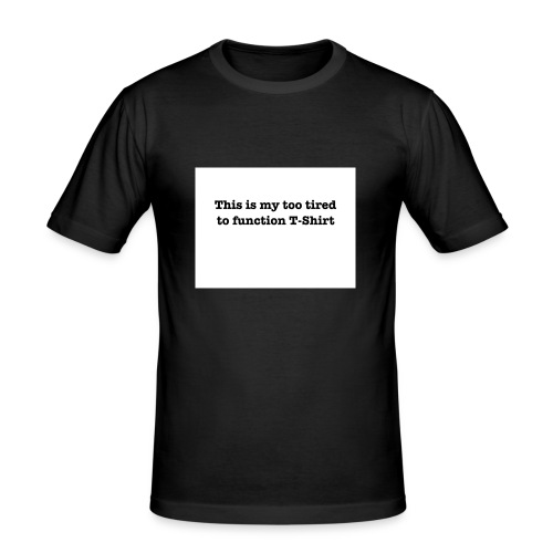 2Tired - Slim Fit T-shirt herr