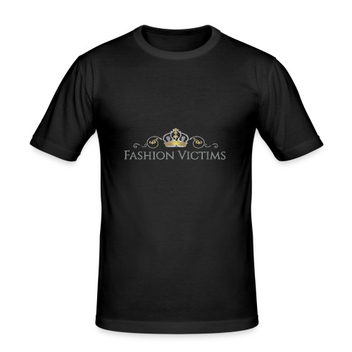 Official Fashion Victims Logo Gold/Silver - slim fit T-shirt