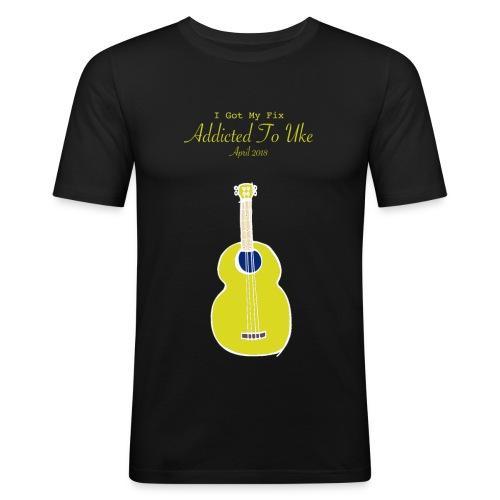 Addicted To Uke Spring 2018 Souvenir - Men's Slim Fit T-Shirt