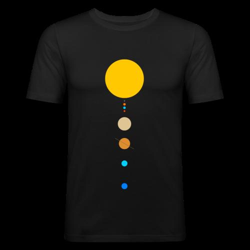 Solar System - Men's Slim Fit T-Shirt