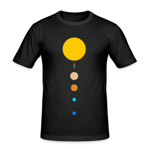Solar System - Men's Slim Fit T-Shirt