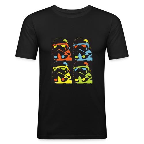 Storm Warhol - T-shirt près du corps Homme
