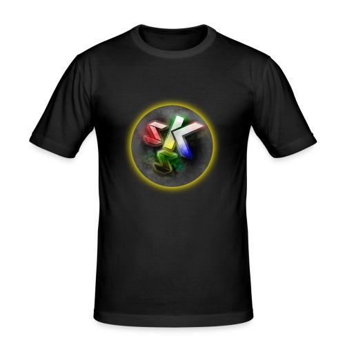 SkShadow Logo - Men's Slim Fit T-Shirt