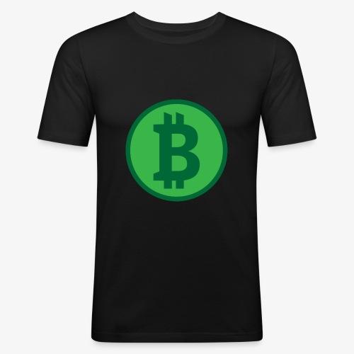 Bitcoin - T-shirt près du corps Homme