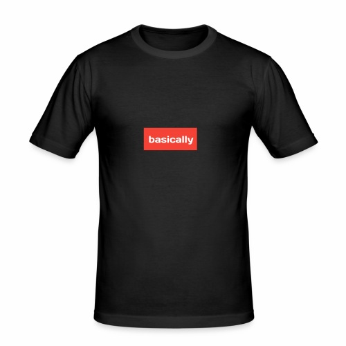 Basically merch - Men's Slim Fit T-Shirt